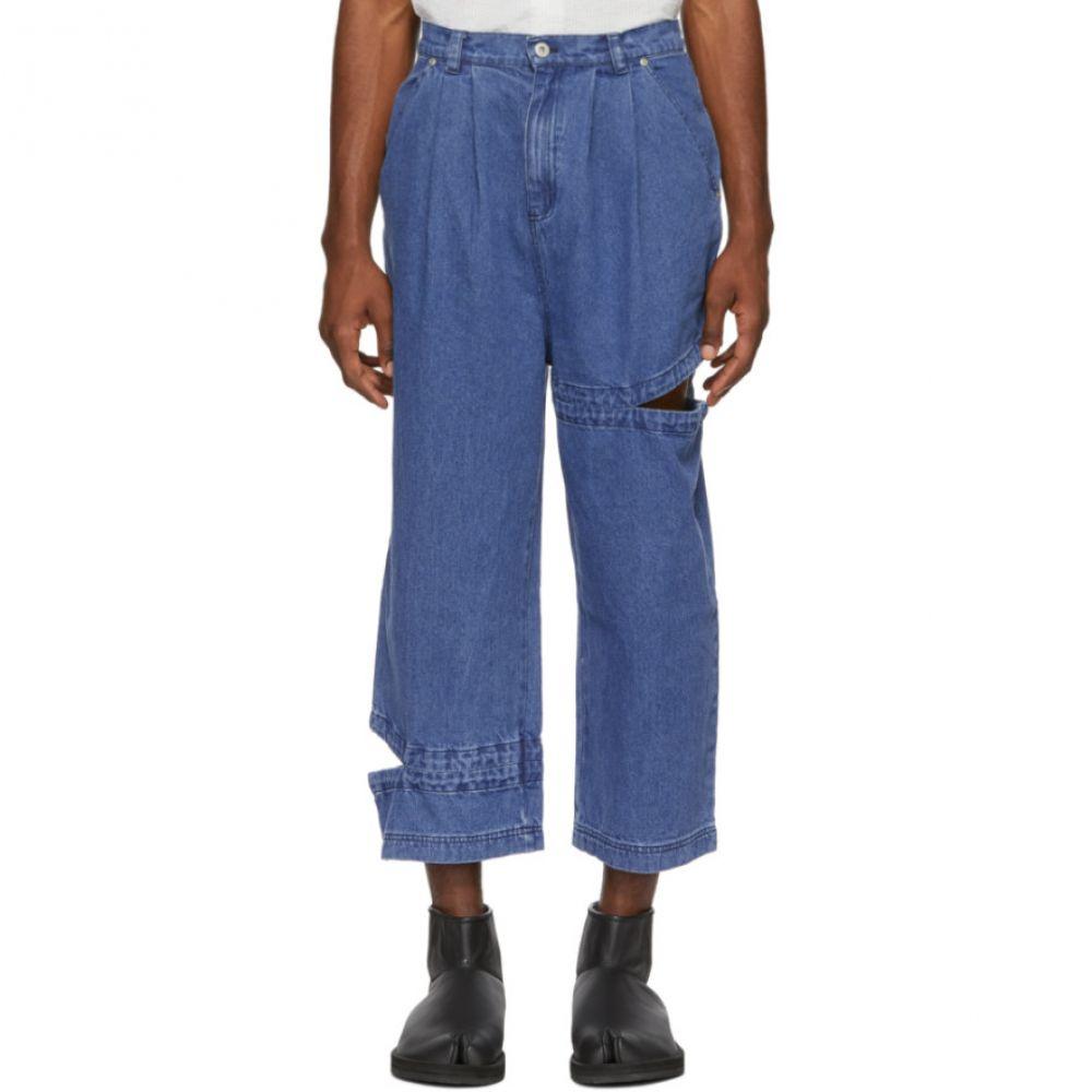 パークスアンドミニ Perks and Mini メンズ ボトムス・パンツ ジーンズ・デニム【Indigo Bri Bri Jeans】