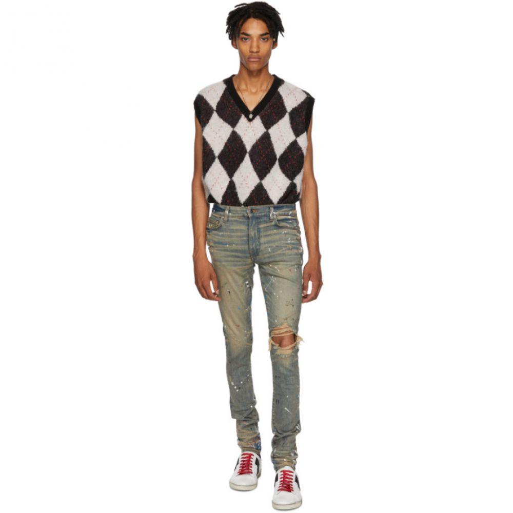 アミリ Amiri メンズ ボトムス・パンツ ジーンズ・デニム【Indigo Artist Broken Jeans】