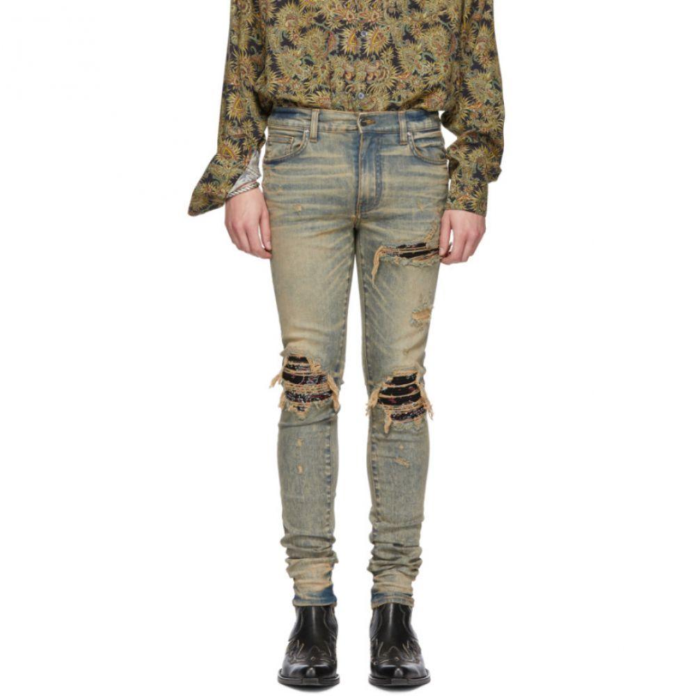 アミリ Amiri メンズ ボトムス・パンツ ジーンズ・デニム【Indigo Bandana Jeans】