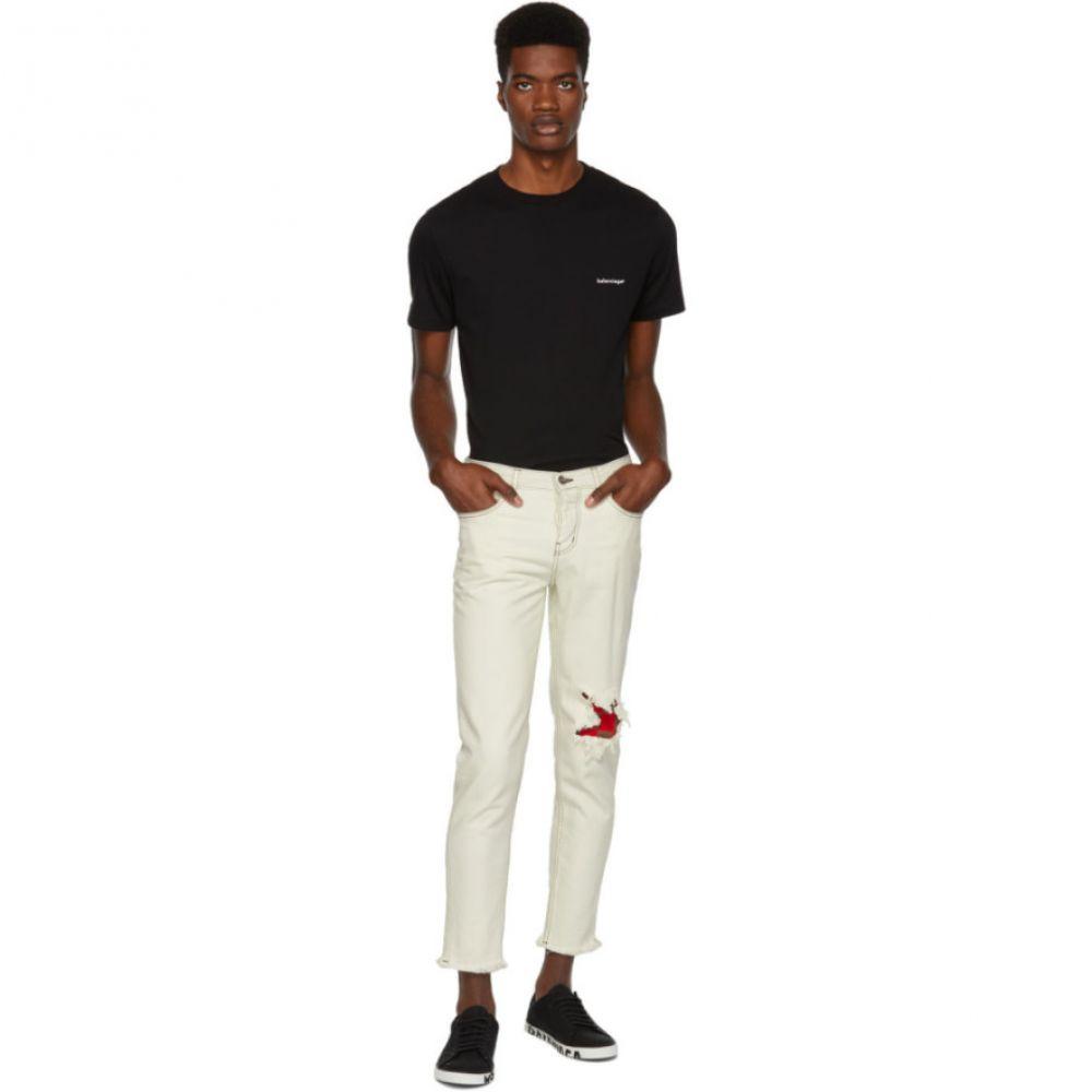 アンファン リッシュ デプリメ Enfants Riches Deprimes メンズ ボトムス・パンツ ジーンズ・デニム【White Nouveaux Classique Jeans】