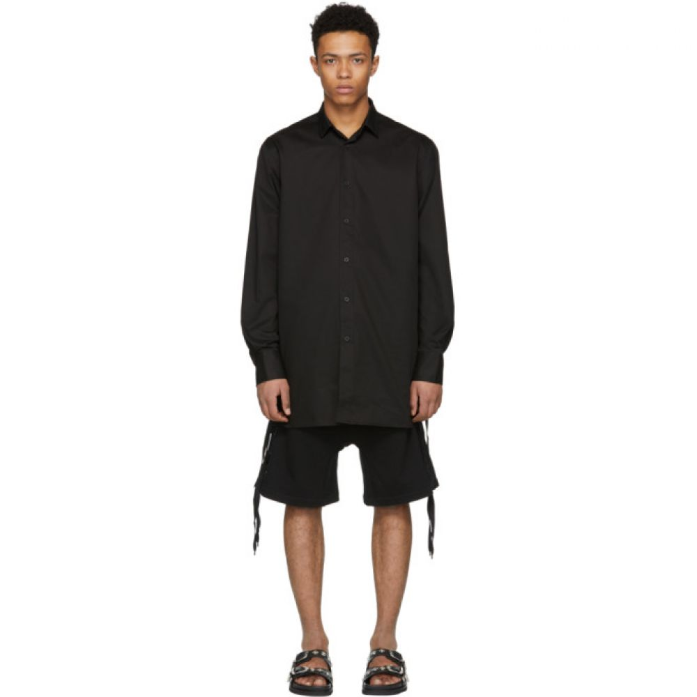 D BY D メンズ トップス シャツ【Black Side String Shirt】