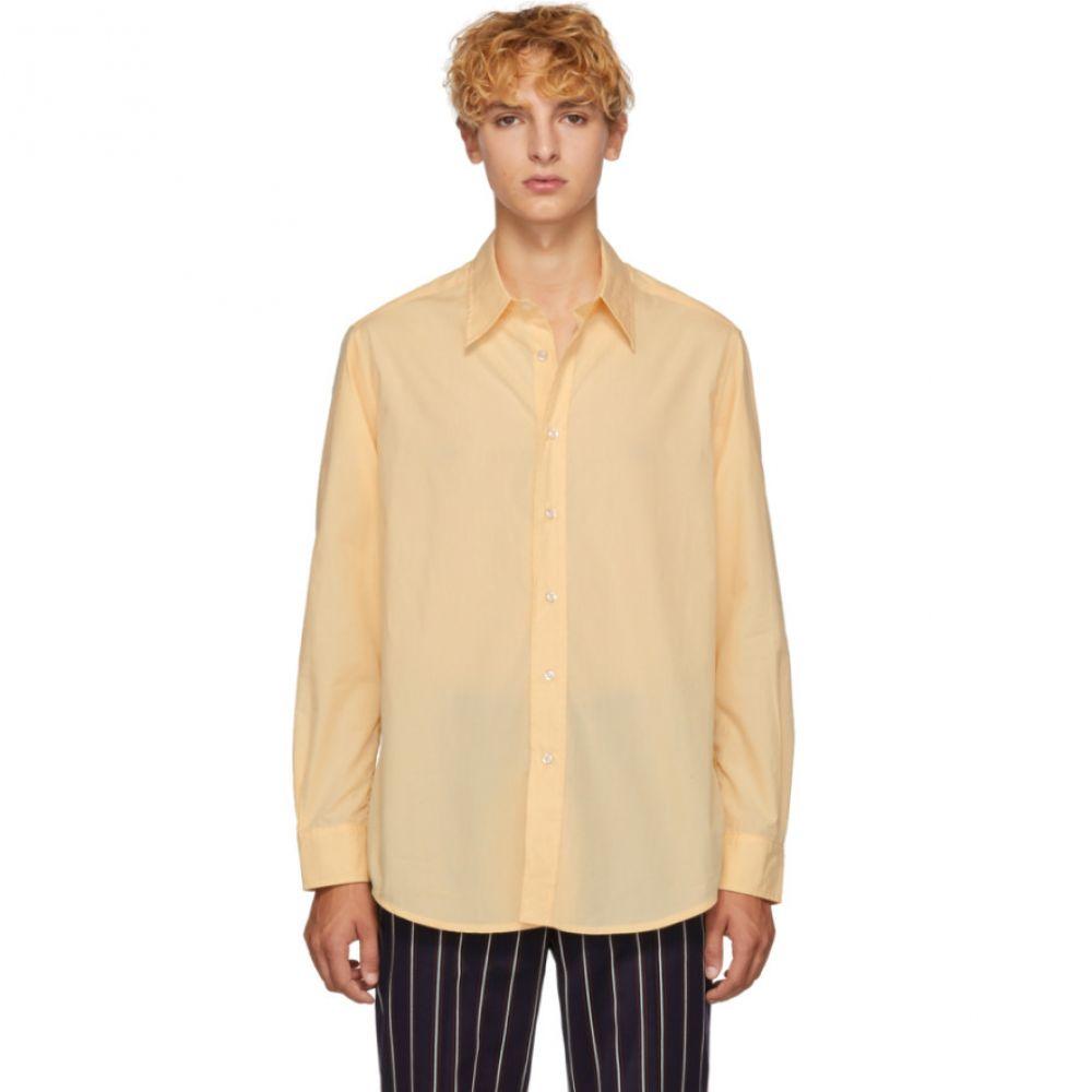 グッドファイト Goodfight メンズ トップス シャツ【Orange Wayside Shirt】