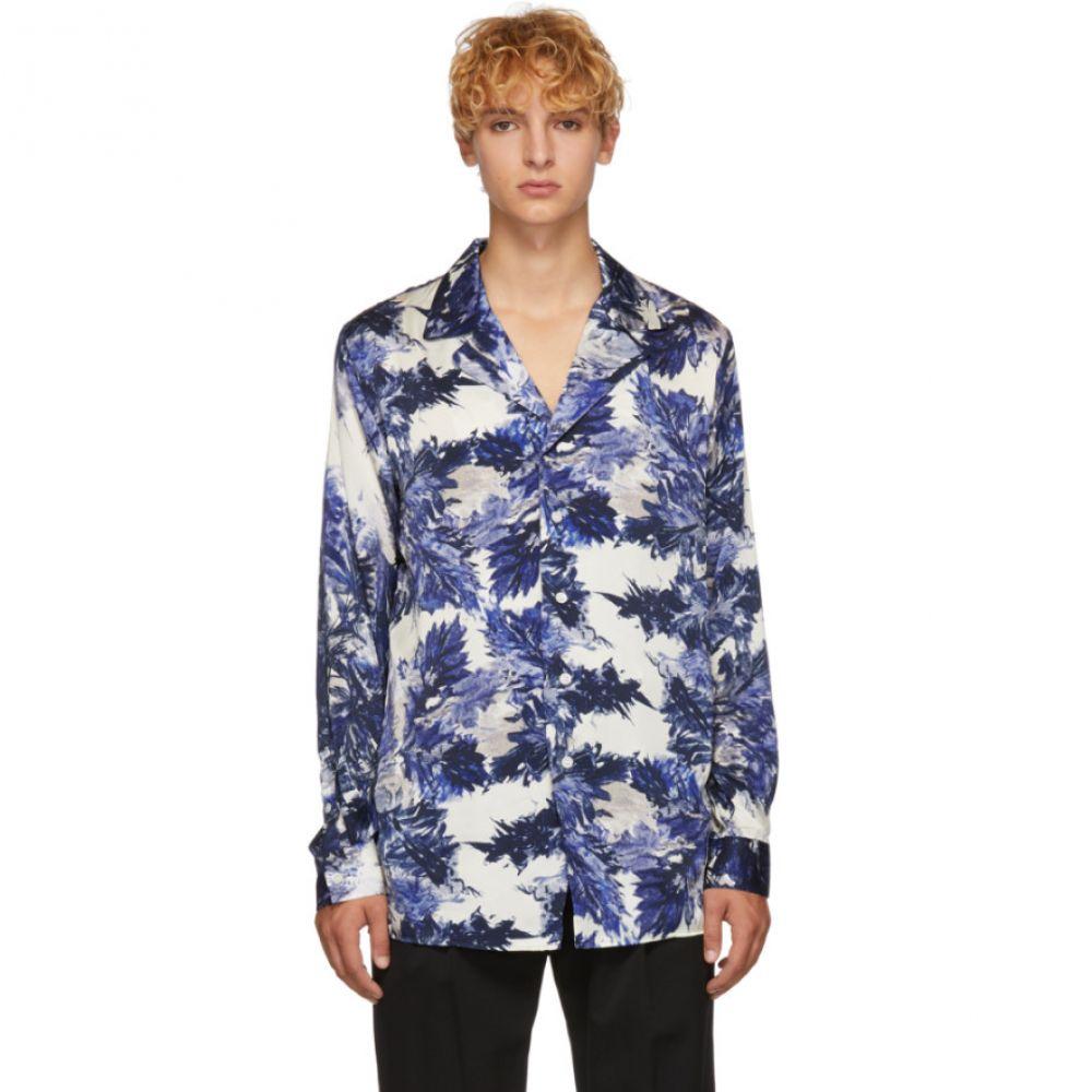 ベッドフォード BED J.W. FORD メンズ トップス シャツ【Blue Gara Pattern Shirt】