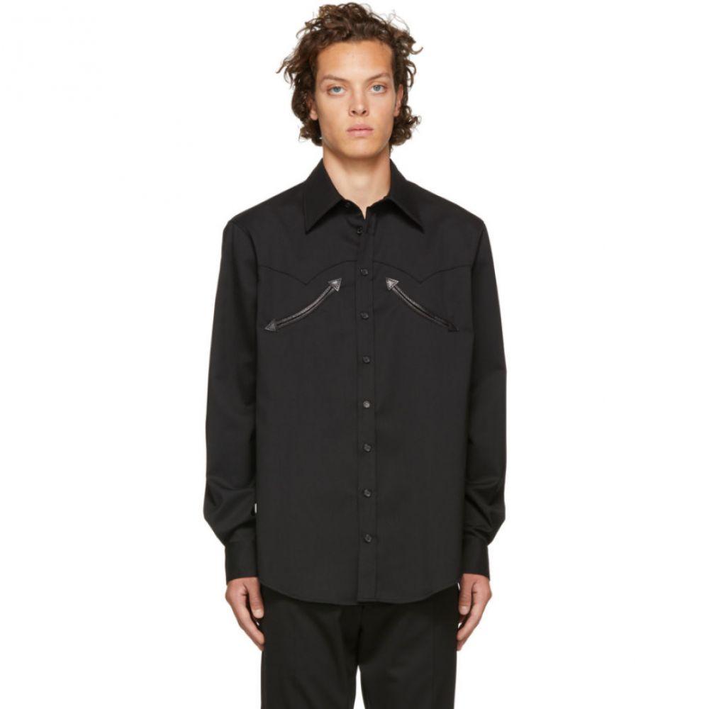 ディースクエアード Dsquared2 メンズ トップス シャツ【Black Wool Chic Military Shirt】