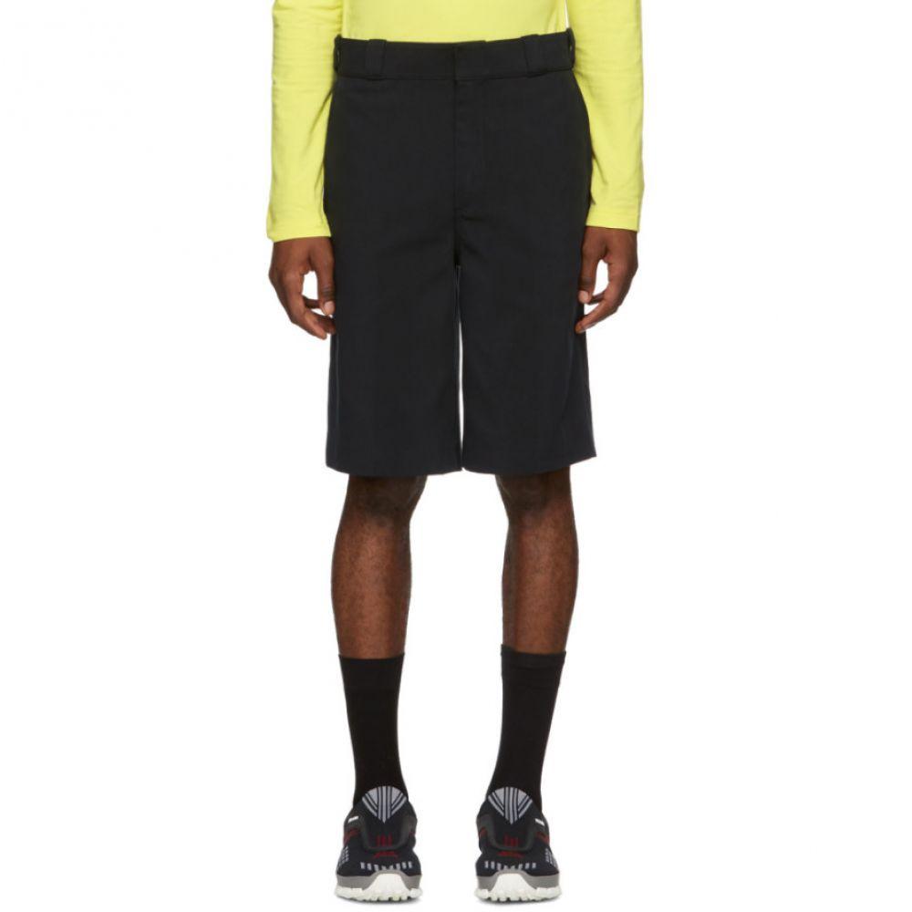 アレキサンダー ワン Alexander Wang メンズ ボトムス・パンツ ショートパンツ【Black Cotton Shorts】