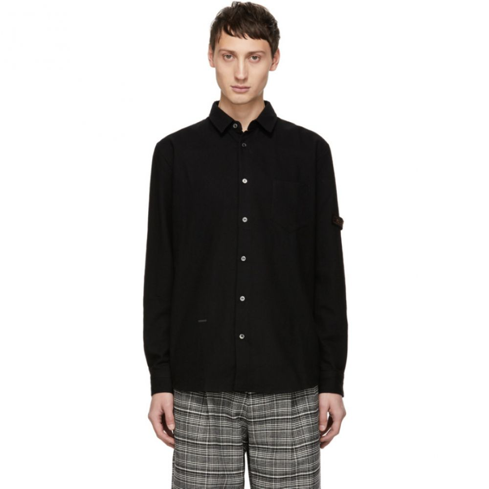 ロバートゲラー Robert Geller メンズ トップス シャツ【Black The Franz Pocket Shirt】