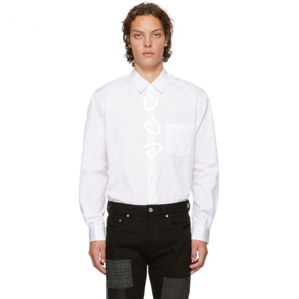 コム デ ギャルソン Comme des Garcons Shirt メンズ トップス シャツ【White Fantasy Button Shirt】
