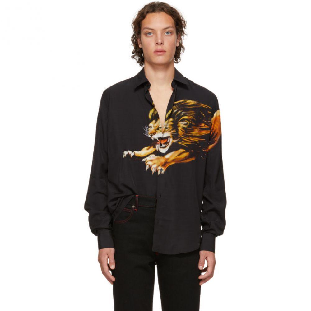 ジバンシー Givenchy メンズ トップス シャツ【Black Lion Shirt】