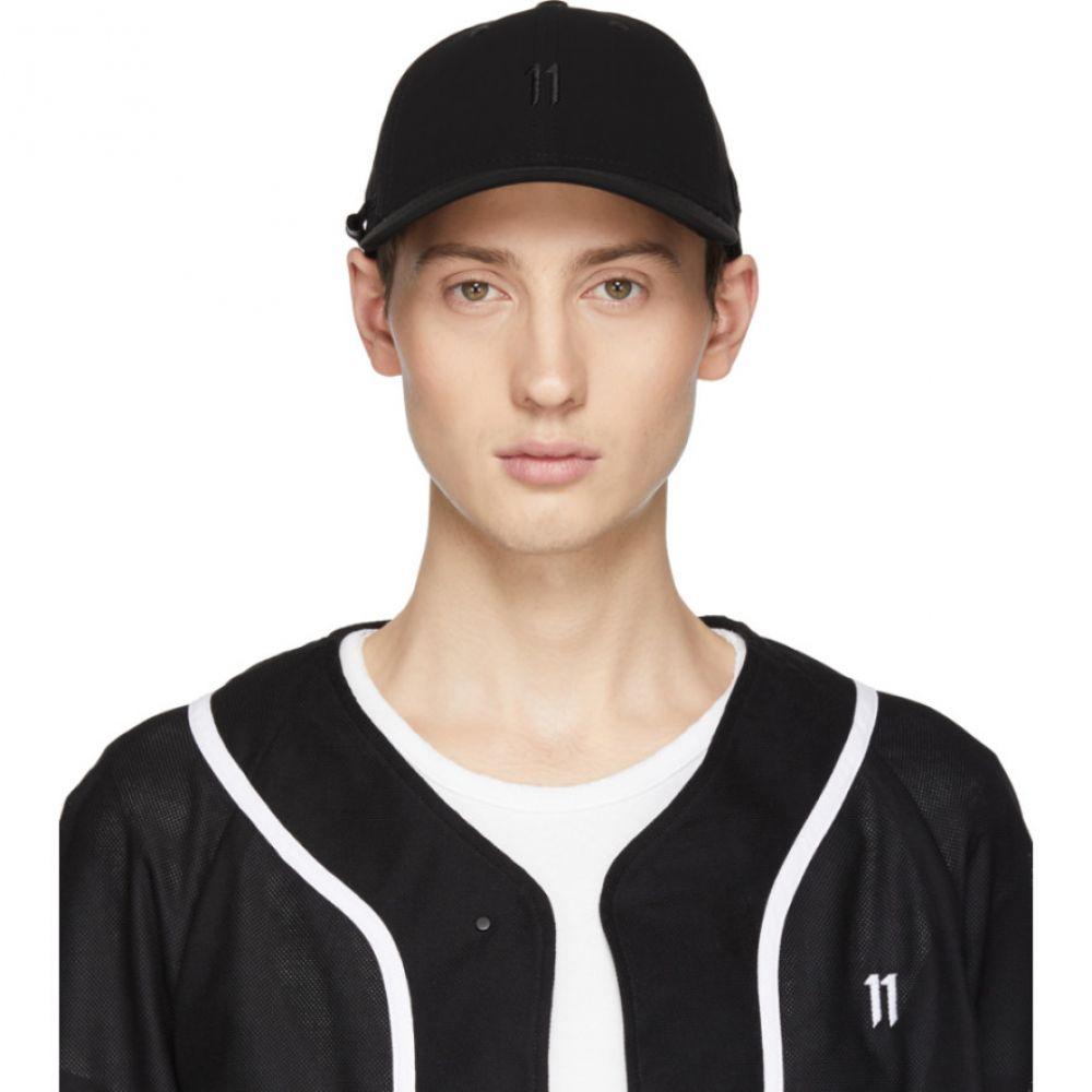 ボリス ビジャン サベリ 11 by Boris Bidjan Saberi メンズ 帽子 キャップ【Black New Era Edition Logo Baseball Cap】