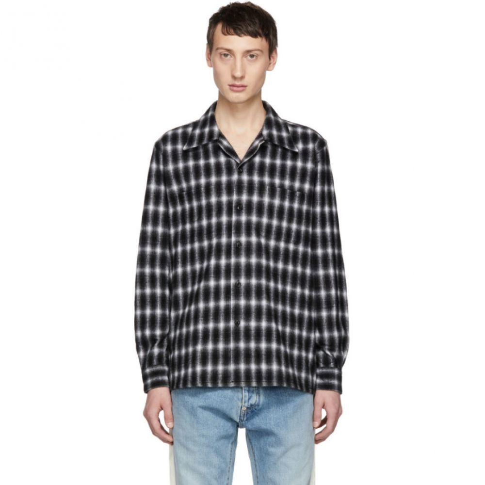 ジョン ローレンス サリバン Johnlawrencesullivan メンズ トップス シャツ【Black Flannel Check Shirt】