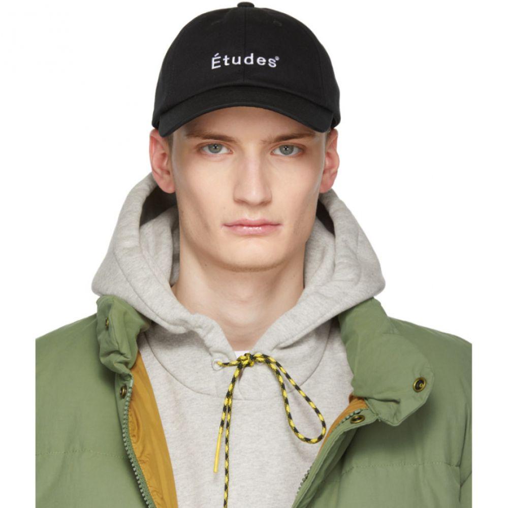 エチュード Etudes メンズ 帽子 キャップ【Black Tuff Cap】