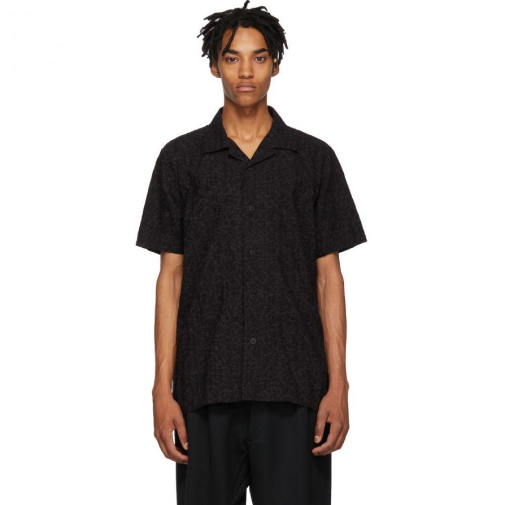 イッセイ ミヤケ Issey Miyake Men メンズ トップス シャツ【Black Shrink Shirt】