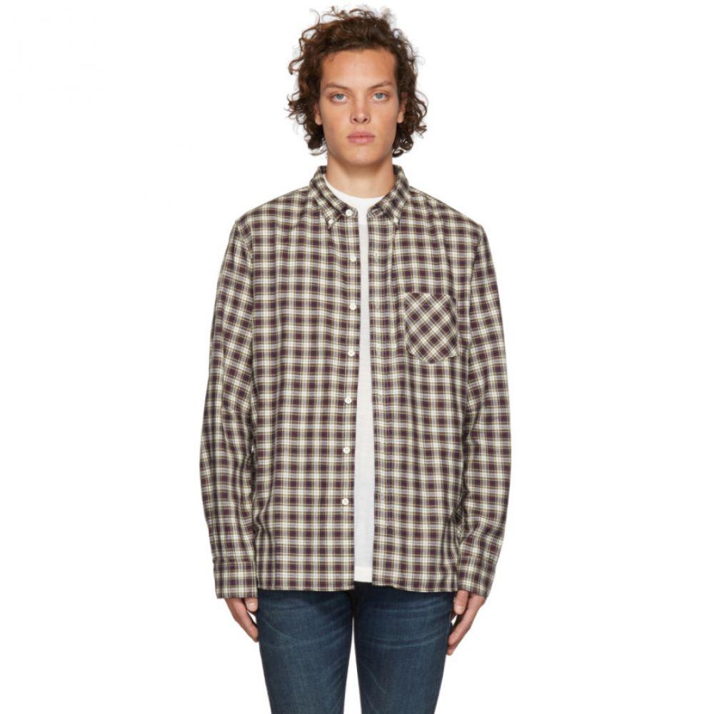 ノンネイティブ nonnative メンズ トップス シャツ【Off-White & Navy Check Dweller Shirt】