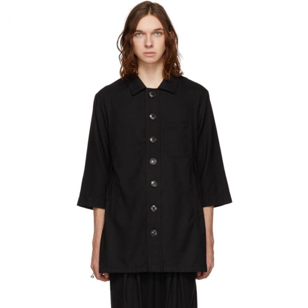 キコ コスタディノフ Kiko Kostadinov メンズ トップス シャツ【Black Wool Zabriskie Shirt】