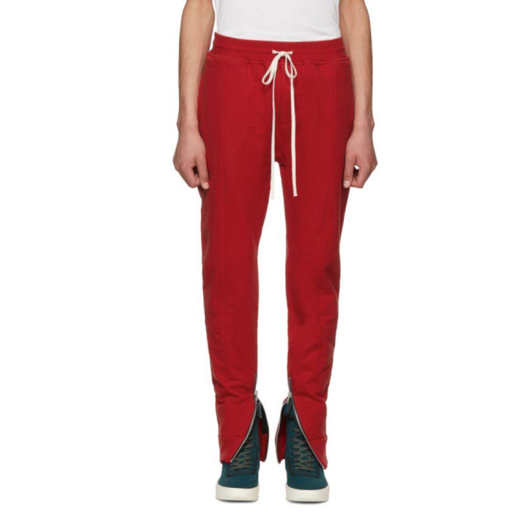 フィアオブゴッド Fear of God メンズ ボトムス・パンツ スウェット・ジャージ【Red Heavy Terry Lounge Pants】