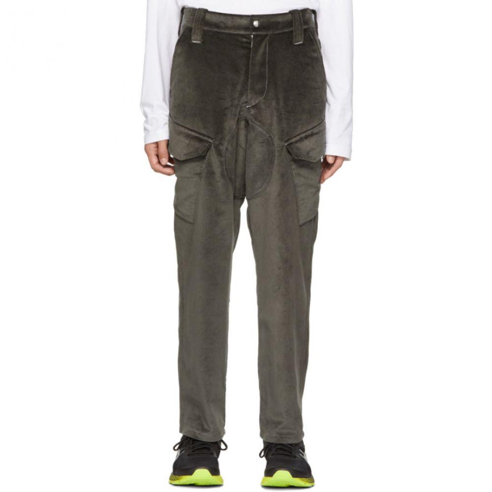 アフィクス Affix メンズ ボトムス・パンツ カーゴパンツ【Grey Velvet Service Pants】
