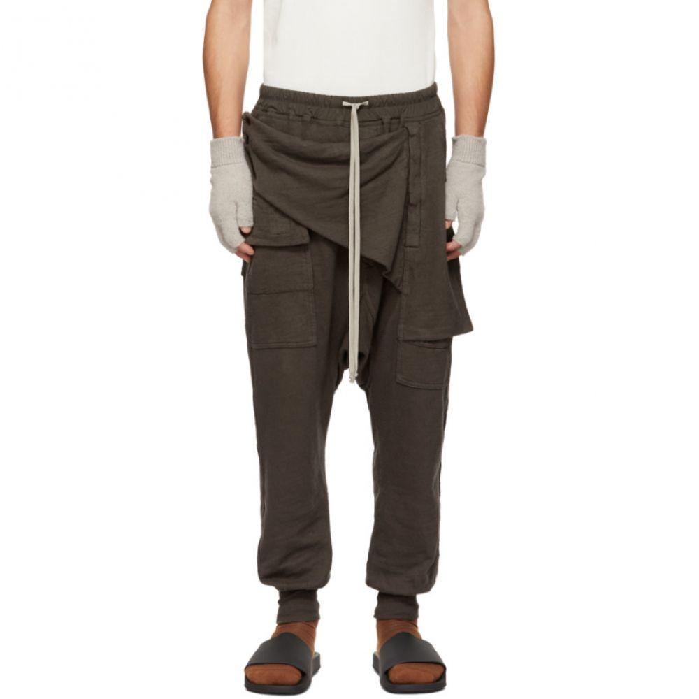リック オウエンス Rick Owens Drkshdw メンズ ボトムス・パンツ スウェット・ジャージ【Grey Prisoner Memphis Lounge Pants】