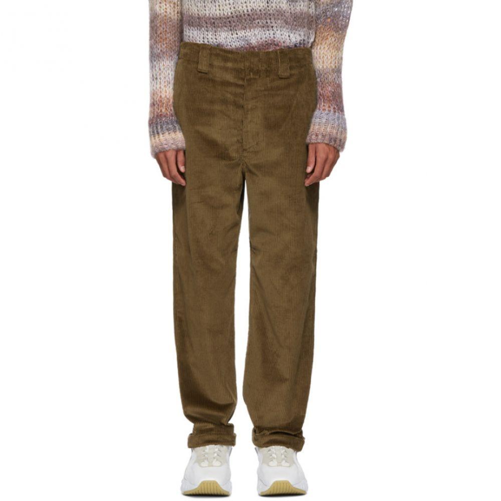 アクネ ストゥディオズ Acne Studios メンズ ボトムス・パンツ【Brown Corduroy Trousers】