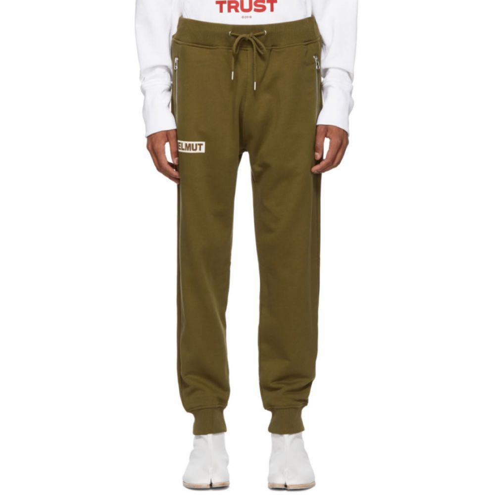 ヘルムート ラング Helmut Lang メンズ ボトムス・パンツ スウェット・ジャージ【Khaki Logo Lounge Pants】