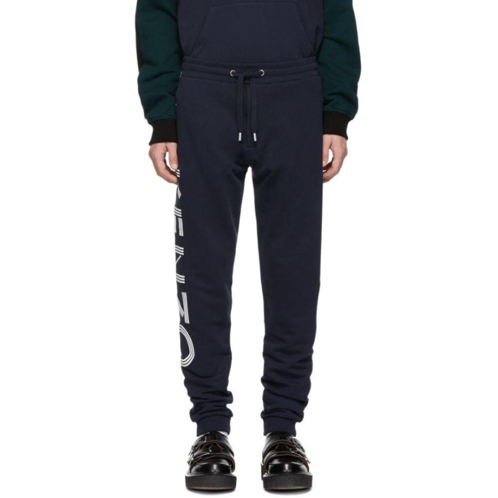 ケンゾー Kenzo メンズ ボトムス・パンツ スウェット・ジャージ【Navy Sport Lounge Pants】