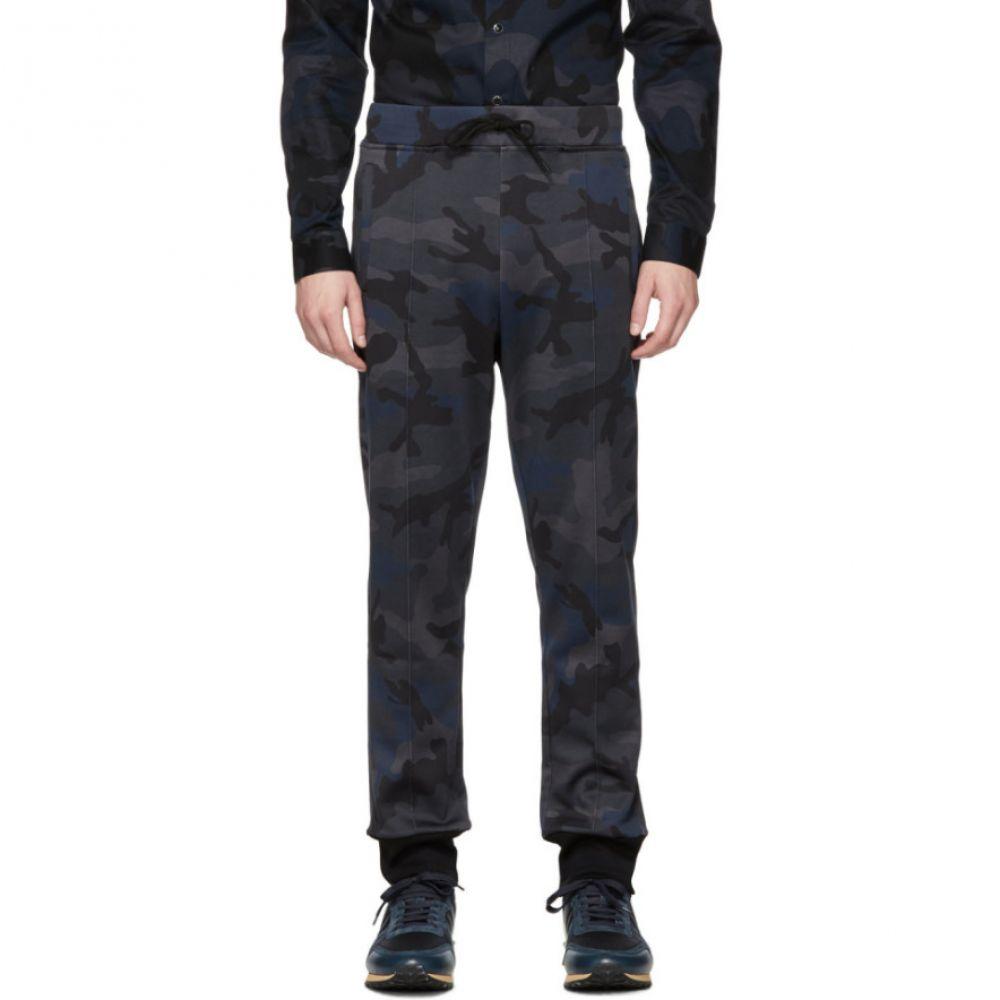 ヴァレンティノ Valentino メンズ ボトムス・パンツ スウェット・ジャージ【Navy Camo Lounge Pants】