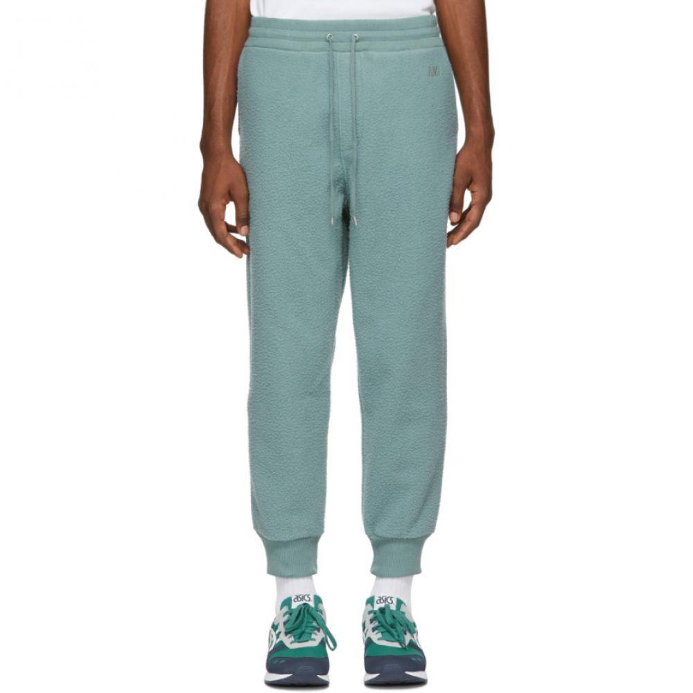 アミアレクサンドルマテュッシ AMI Alexandre Mattiussi メンズ ボトムス・パンツ スウェット・ジャージ【Green Pilled Lounge Pants】