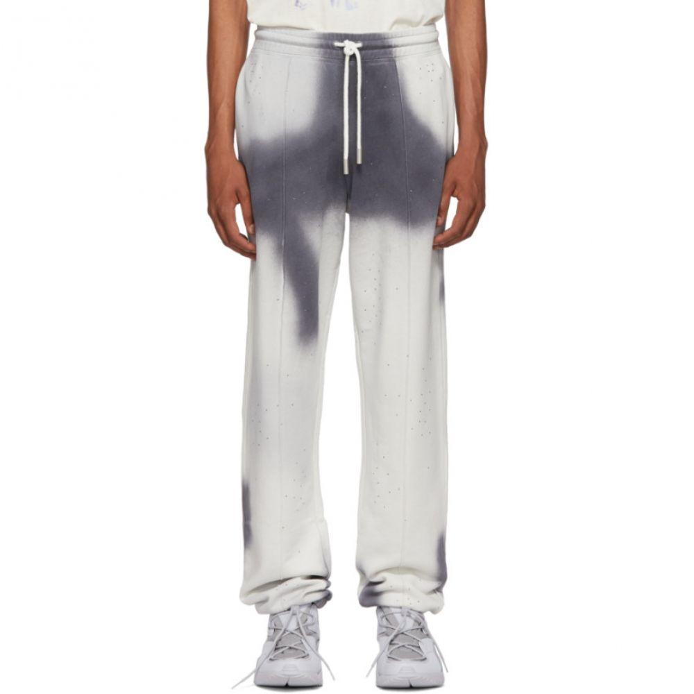 オフ-ホワイト Off-White メンズ ボトムス・パンツ スウェット・ジャージ【Grey Spray Lounge Pants】