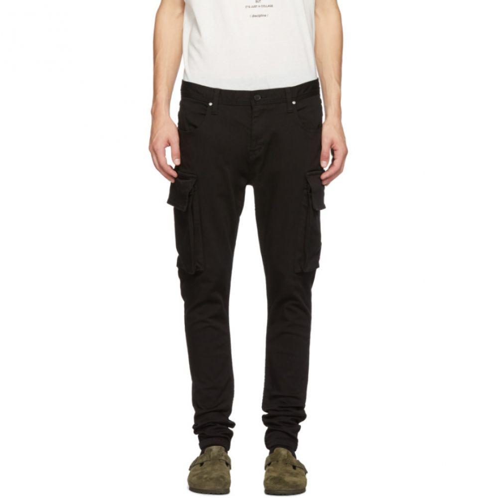 ダイエットブッチャースリムスキン Diet Butcher Slim Skin メンズ ボトムス・パンツ カーゴパンツ【Black Loose Fit Cargo Pants】