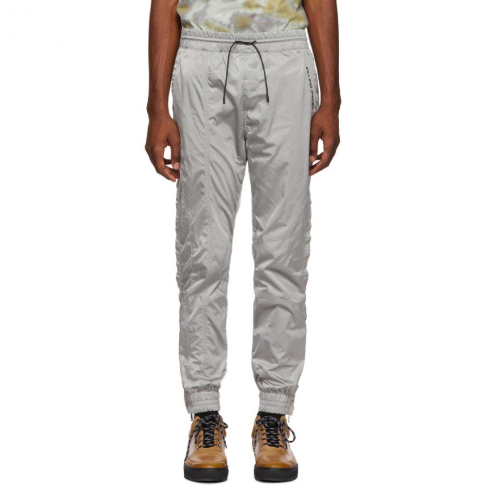 フィリング ピース Filling Pieces メンズ ボトムス・パンツ スウェット・ジャージ【Grey Logo Track Pants】