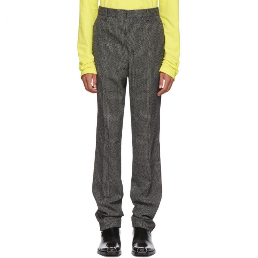 カルバンクライン Calvin Klein 205W39NYC メンズ ボトムス・パンツ【Grey & Black Uniform Trousers】