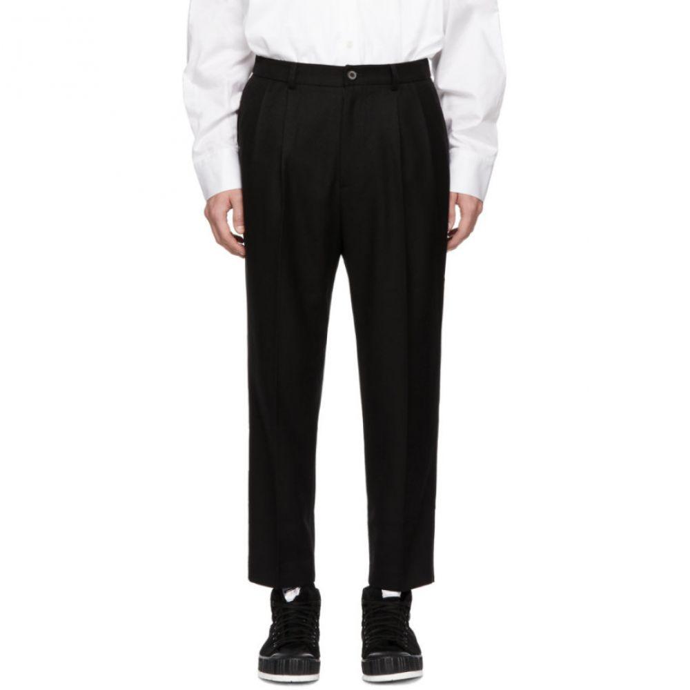 アーダーエラー ADER error メンズ ボトムス・パンツ クロップド【Black Gov Cropped Trousers】