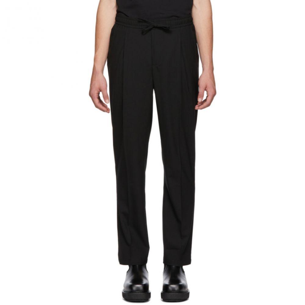 ル オムルージュ L'Homme Rouge メンズ ボトムス・パンツ【Black Comfort Trousers】