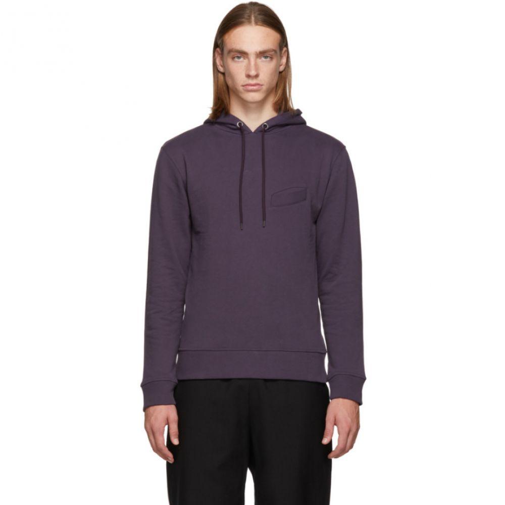 ル オムルージュ L'Homme Rouge メンズ トップス パーカー【Purple Pocket Hoodie】