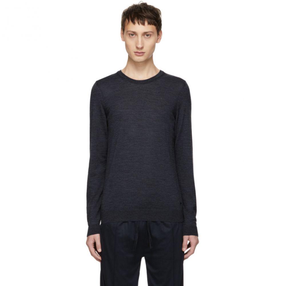 ヒューゴ ボス Boss メンズ トップス ニット・セーター【Blue Leno-P Crewneck Sweater】