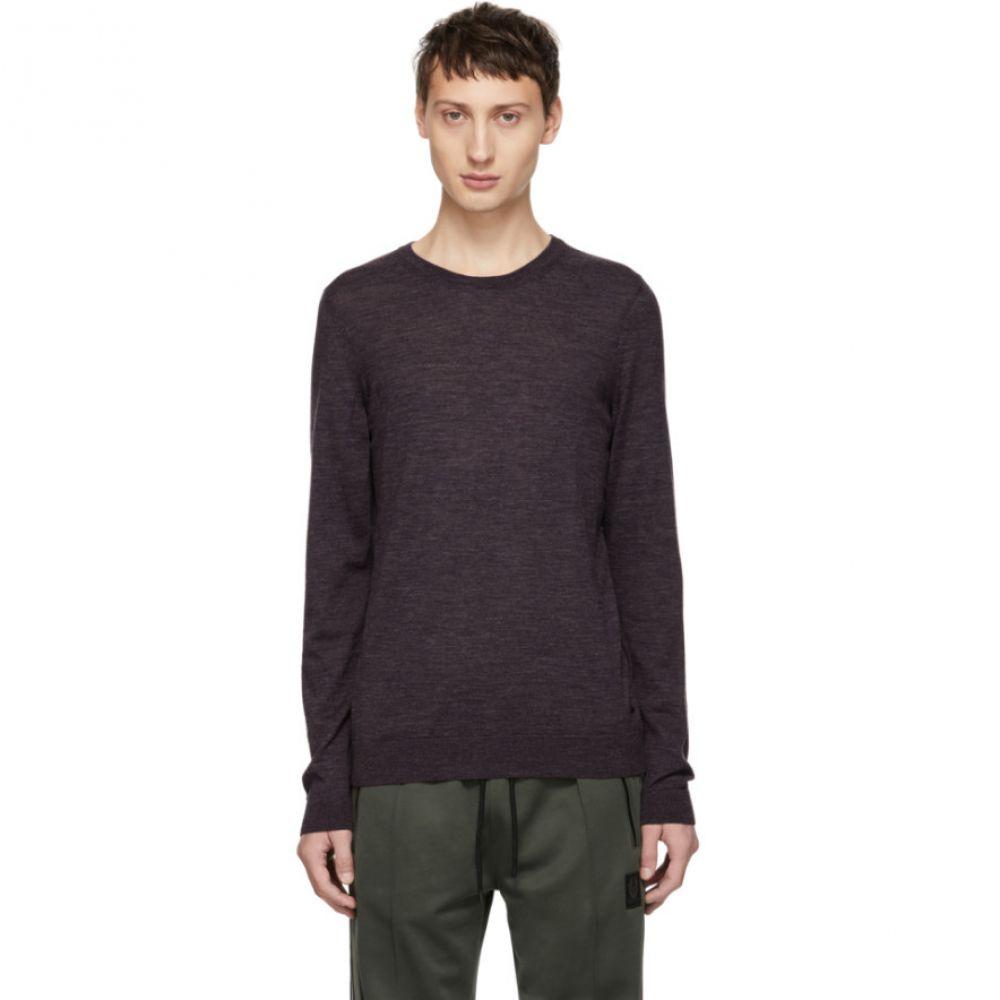ヒューゴ ボス Boss メンズ トップス ニット・セーター【Purple Leno-P Crewneck Sweater】