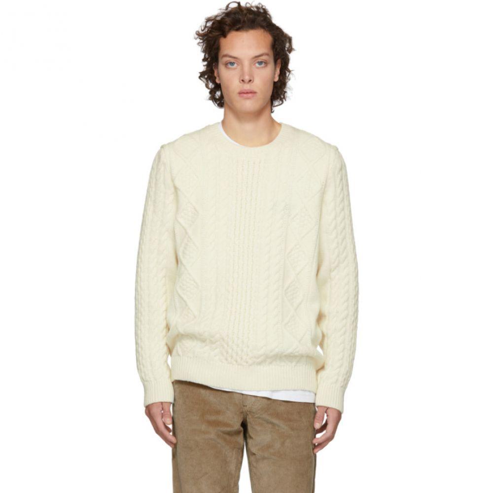 ノースプロジェクト Norse Projects メンズ トップス ニット・セーター【Off-White Arild Cable Knit Sweater】
