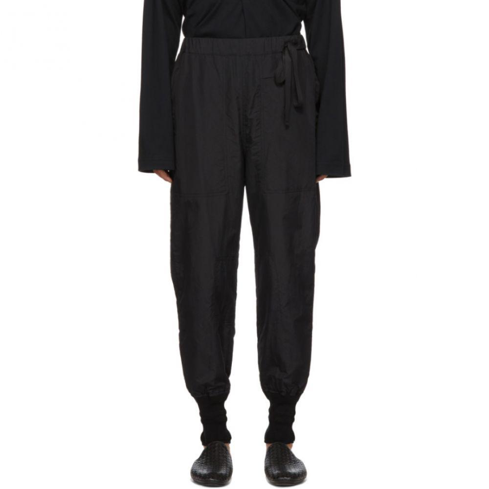 Trousers】 J.W. FORD BED メンズ Nylon ベッドフォード ボトムス・パンツ【Black Training