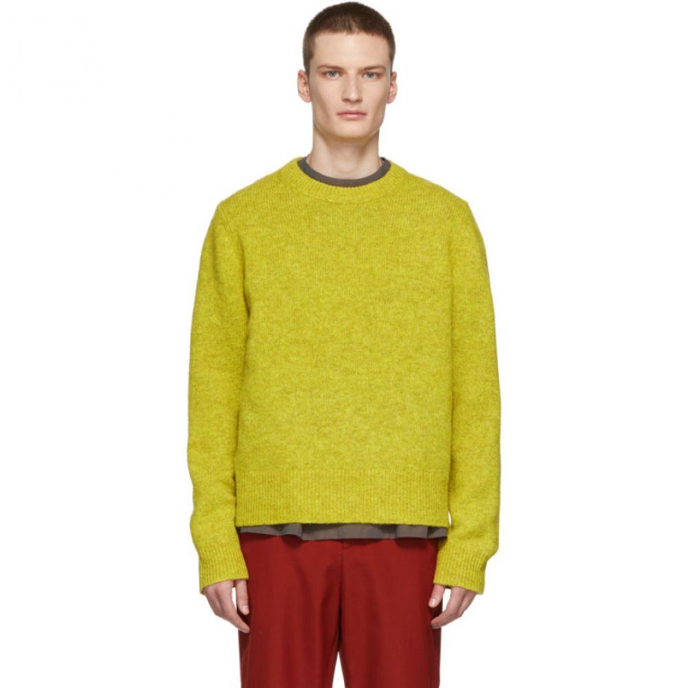 アクネ ストゥディオズ Acne Studios メンズ トップス ニット・セーター【Yellow Kai Crewneck Sweater】