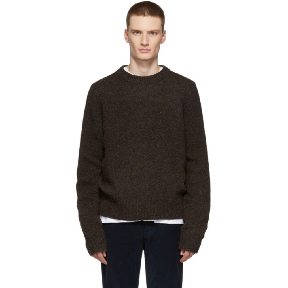 アクネ ストゥディオズ Acne Studios メンズ トップス ニット・セーター【Brown Kai Crewneck Sweater】