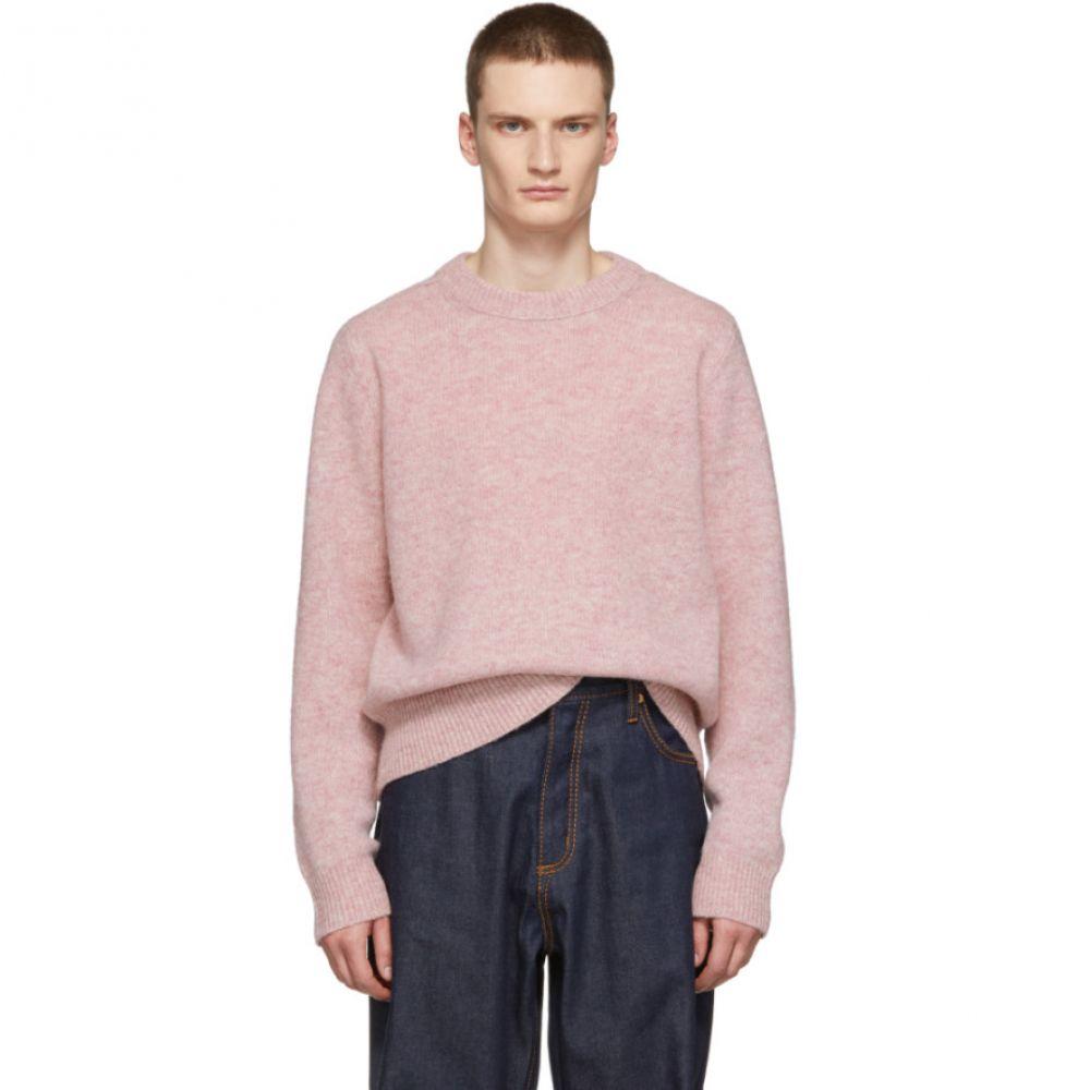 アクネ ストゥディオズ Acne Studios メンズ トップス ニット・セーター【Pink Kai Crewneck Sweater】