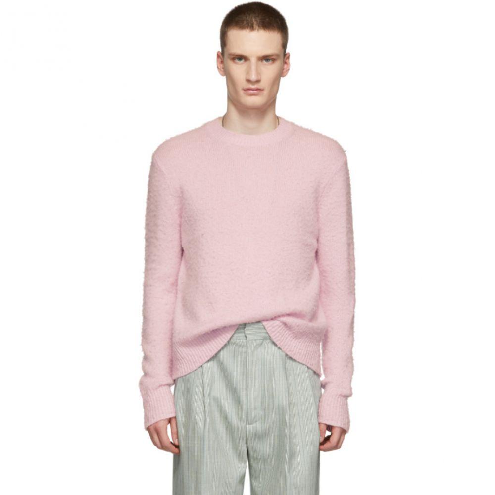 アクネ ストゥディオズ Acne Studios メンズ トップス ニット・セーター【Pink Peele Sweater】