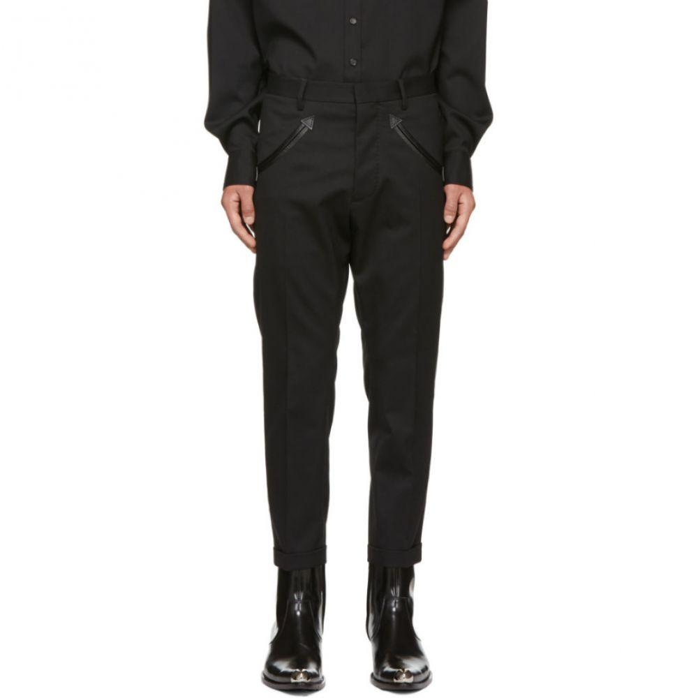 ディースクエアード Dsquared2 メンズ ボトムス・パンツ【Black Hockney Western Trousers】