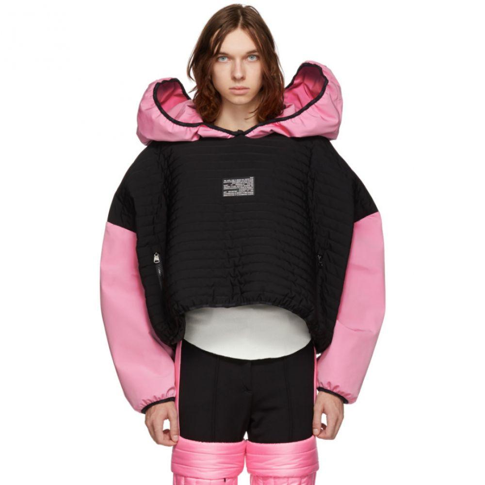 コルマール Colmar A.G.E. by Shayne Oliver メンズ トップス パーカー【Black & Pink Villa Ski Hoodie】