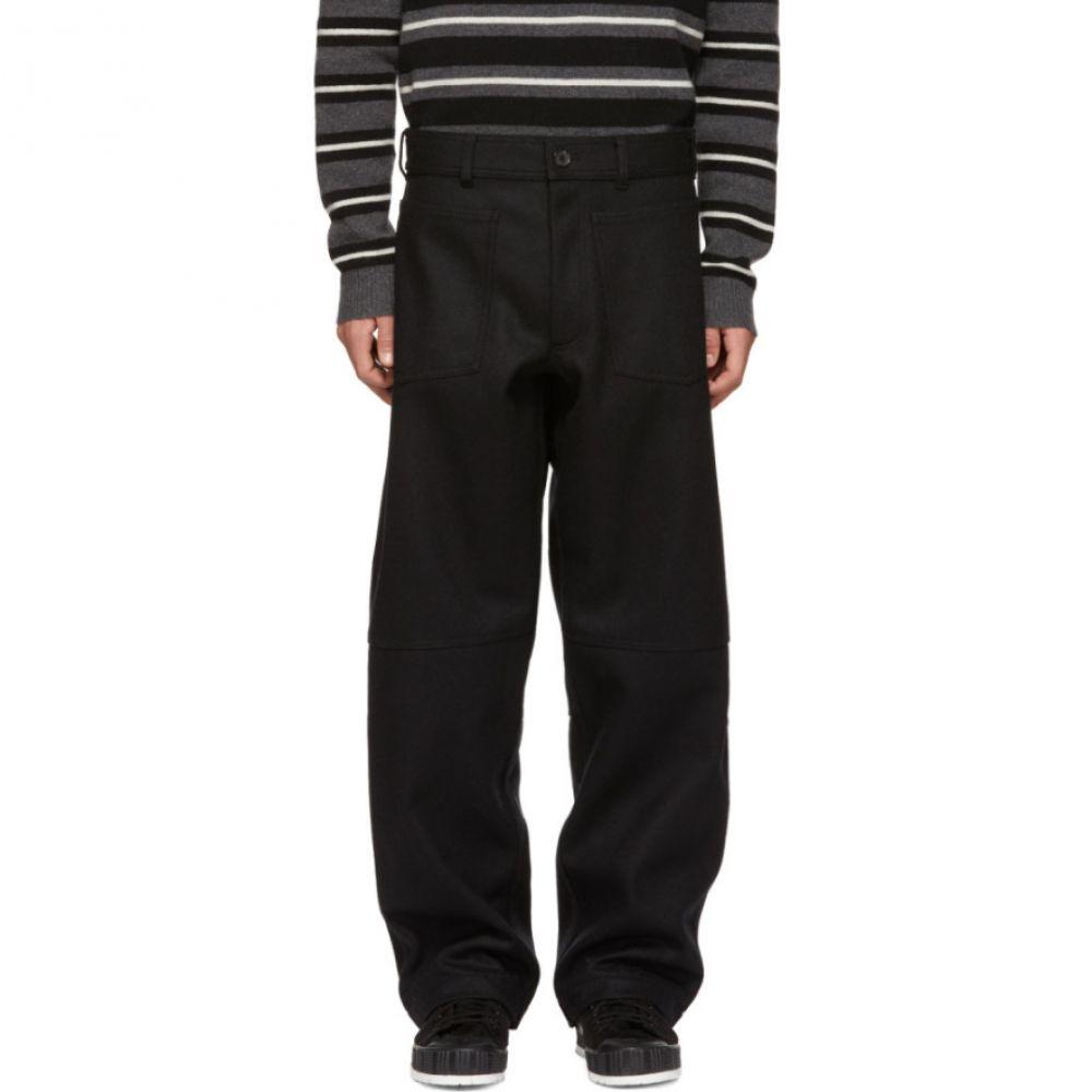 コム デ ギャルソン Comme des Garcons Shirt メンズ ボトムス・パンツ【Black Workstitch Trousers】