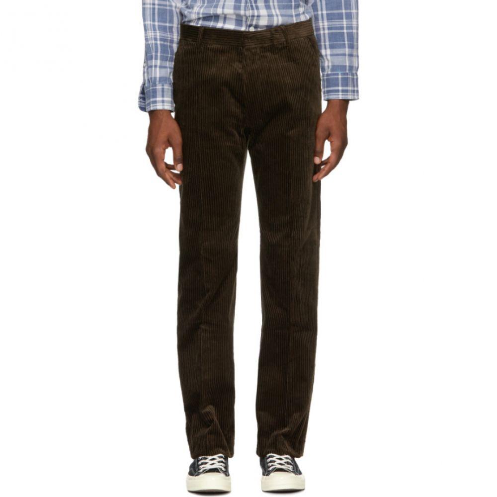 アミアレクサンドルマテュッシ AMI Alexandre Mattiussi メンズ ボトムス・パンツ【Brown Corduroy Trousers】