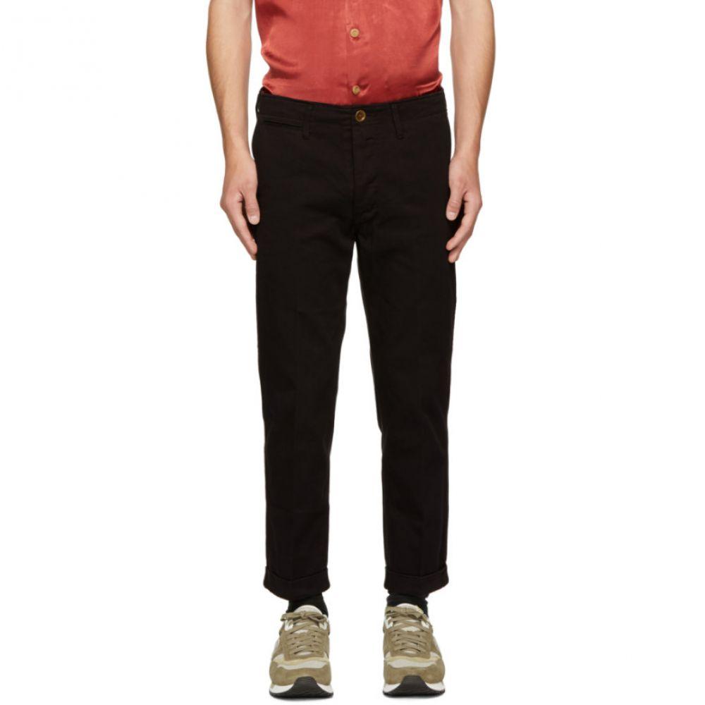 ビズビム Visvim メンズ ボトムス・パンツ チノパン【Black High-Water Chino Trousers】