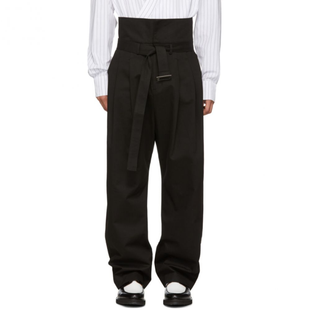 D BY D メンズ ボトムス・パンツ【Black Wide Trousers】