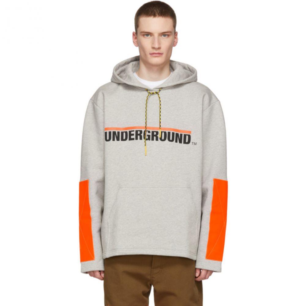 エチュード Etudes メンズ トップス パーカー【Grey Stream 'Underground' Hoodie】