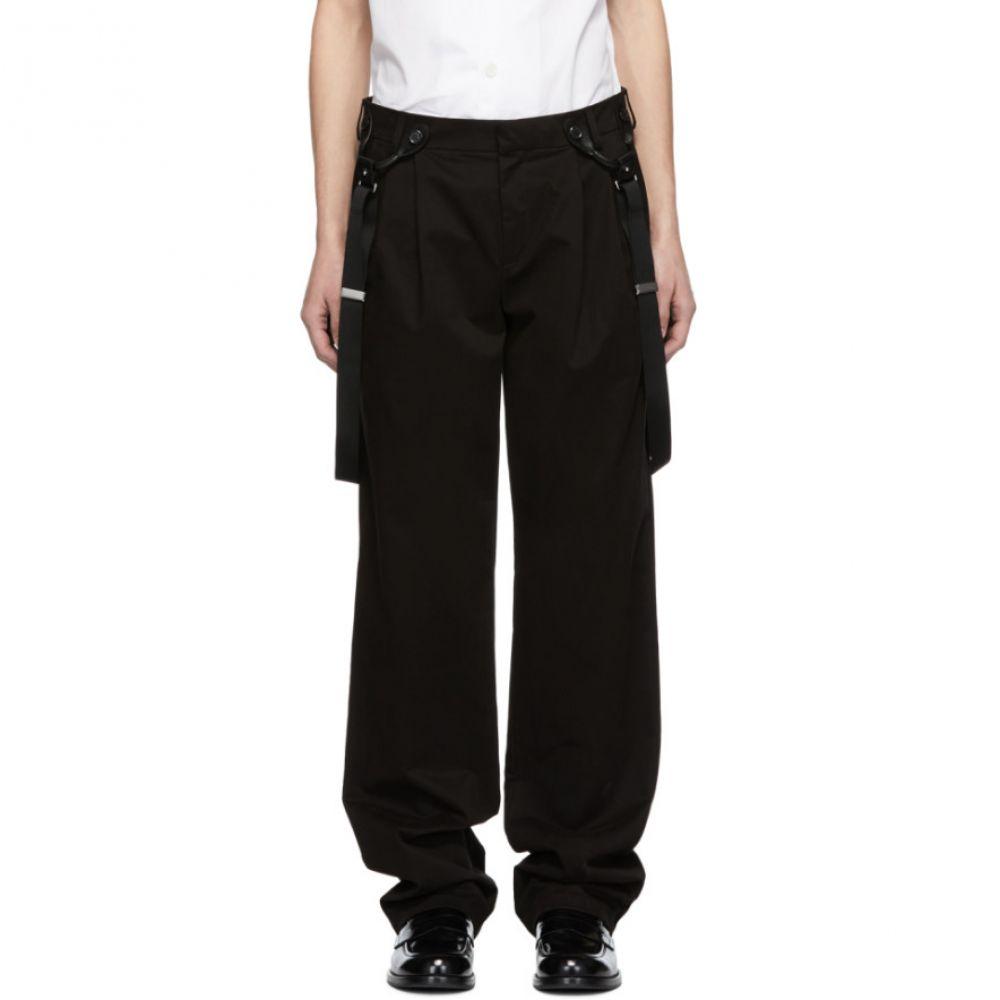モスキーノ Moschino メンズ ボトムス・パンツ【Black Suspender Trousers】
