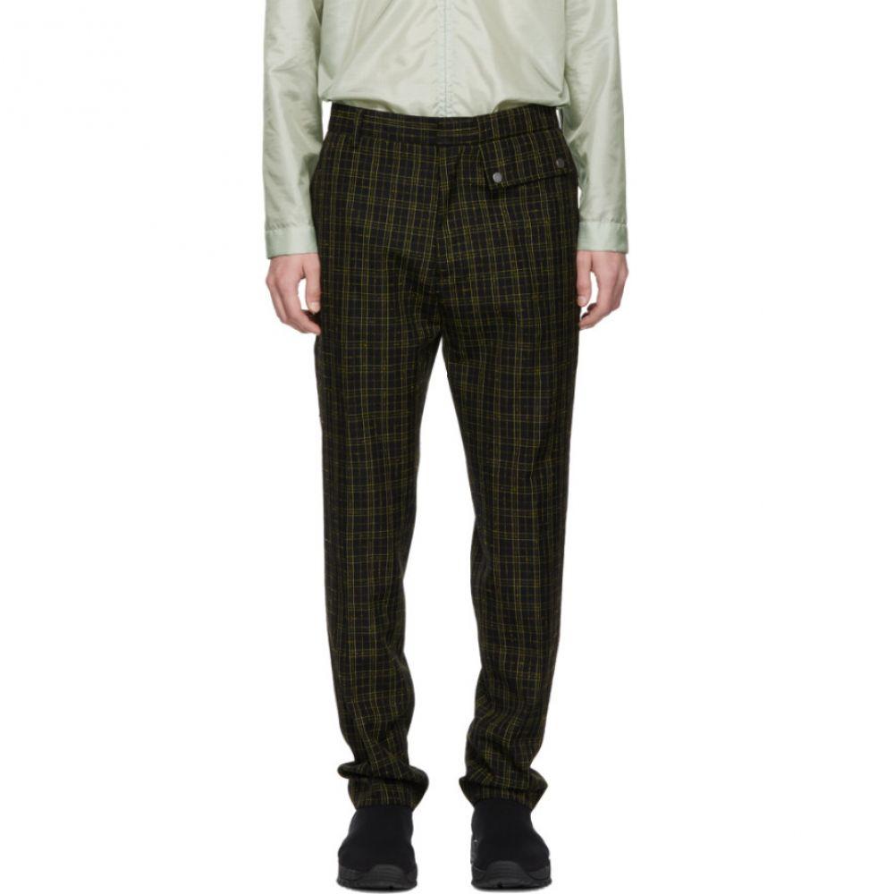 71cb0ec0a53ce コモン スウェーデン CMMN SWDN メンズ ボトムス・パンツ Black   Yellow Stenson Trousers